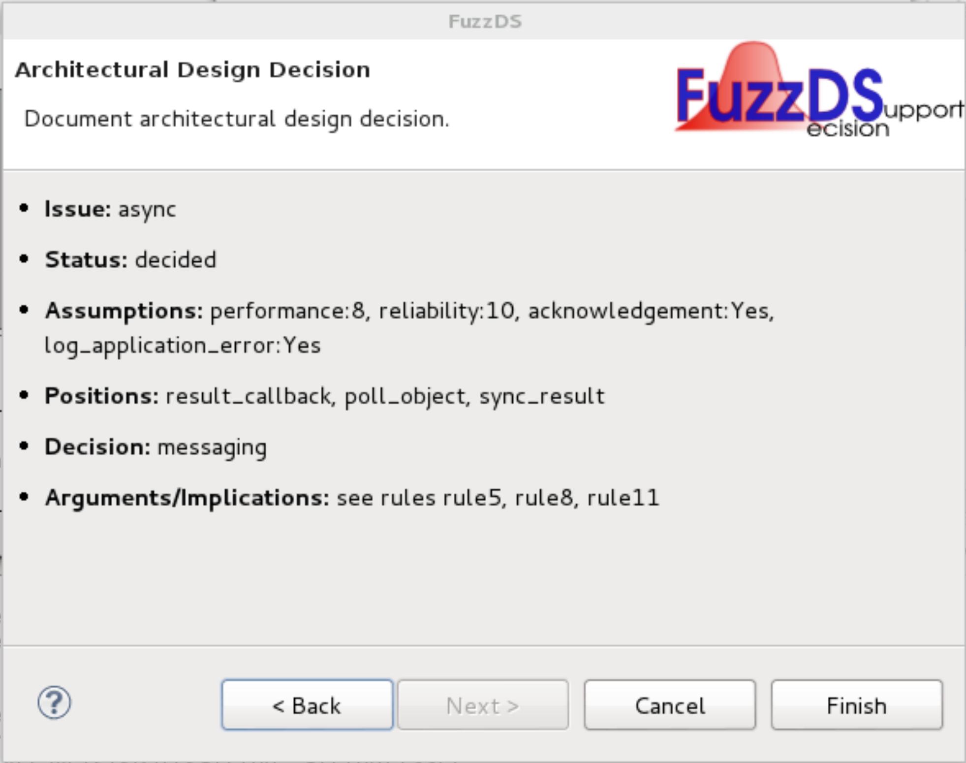 Final-decision