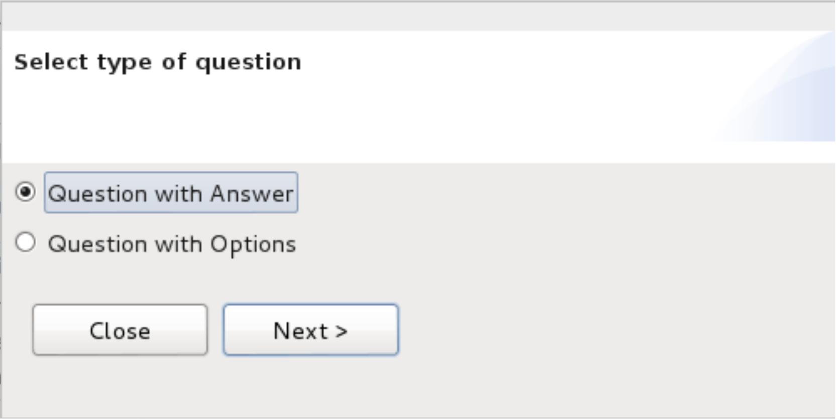 TypeOfQuestion